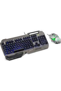 Kit Gamer Warrior Teclado Ragnar Dupla Membrana + Mouse Keon Led 3.200 Dpi R$ 44