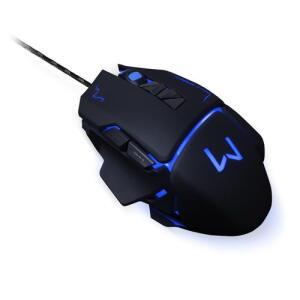 Mouse Gamer Warrior Preto 3.200 Dpi - Mo261