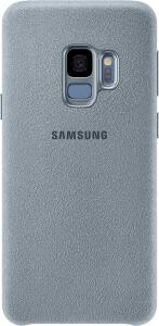Samsung Capa Alcântara Galaxy S9 (Preto e Cinza)