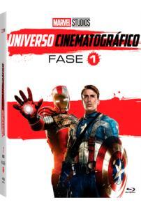 DVD Marvel Universo Cinematográfico - Fase 1 - 6 Discos