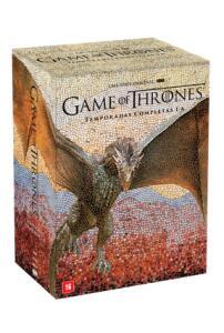 DVD Game Of Thrones - Temporadas Completas 1-6 - 30 Discos