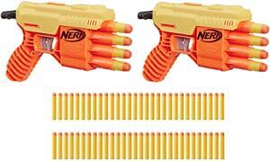 Lanca Dardos Nerf Alphastrike Fang Load Out R$ 96