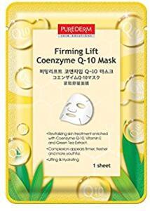 [Prime] Purederm Máscara Rejuvenescedora Coenzyme Q-10  R$6