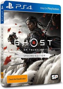 Ghost Of Tsushima - Edição Especial - PlayStation 4 | R$ 231