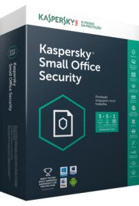 Kaspersky Small Office Security - 5 Desktops + 1 Servidor - 1 Ano   R$ 100