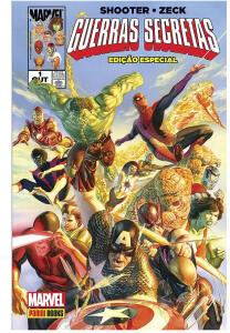 HQ - Guerras Secretas - Marvel