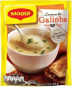 [Prime] Creme de Galinha Maggi, 63g