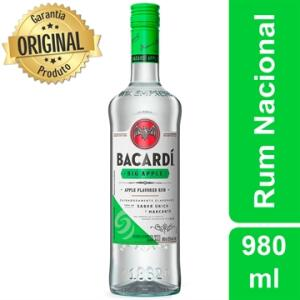 Bacardi Big Apple 980 ml [Frete grátis MG]