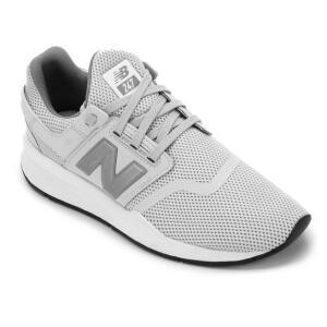 Tênis New Balance MS247 Masc - Cinza e Branco (42, 43, 44)