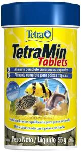 [Prime] Tetra TetraMin Tablets Para Peixe, 55g