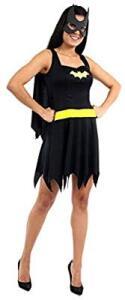 [Prime] Fantasia Batgirl Verão Adulto - Pp Sulamericana Fantasias Preto | R$ 46