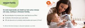 [PRIME] 10% em seleção de fraldas e produtos de higiene no Amazon Family