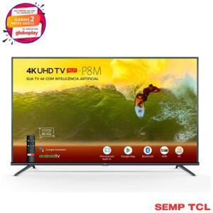 TV LED 50'' 50P8M 4K UHD HDR com Android