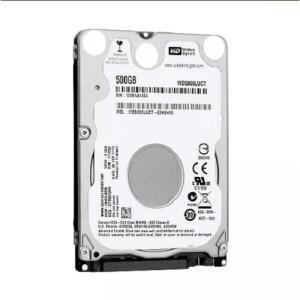 "HD 500GB Western Digital para Notebook 2,5"" 7mm WD5000LUCT"