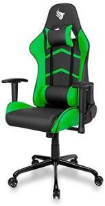 Cadeira Gamer Pichau Gaming Donek Verde com Almofadas - R$680