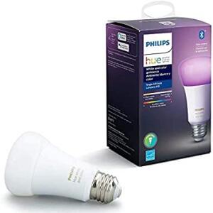 Philips Hue White & Color Ambiance Lâmpada E27 110V - Iluminação Inteligente | R$ 251