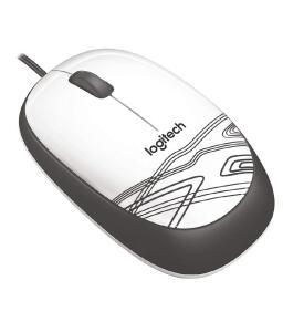 [ PRIME ] Mouse Logitech M105 USB Branco | R$ 29