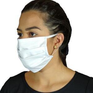 Kit 10 máscaras tecido resistente 100% algodão