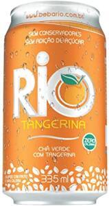 Chá Verde com Tangerina Rio Lata 335 ml - 12 Latas | R$30