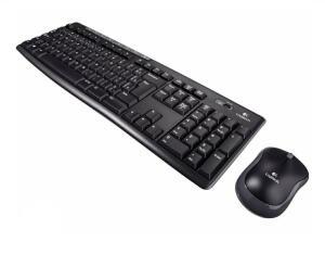 Kit Teclado e Mouse Sem Fio Logitech-MK270 | R$126