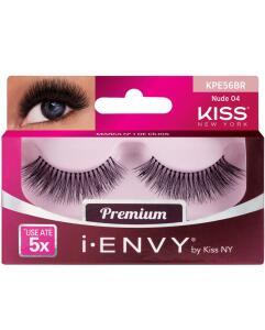 Cílios postiços I-Envy Nude 04 Kiss New York | R$14