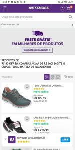 R$80 OFF EM COMPRAS ACIMA DE R$160 EM PRODUTOS SELECIONADOS