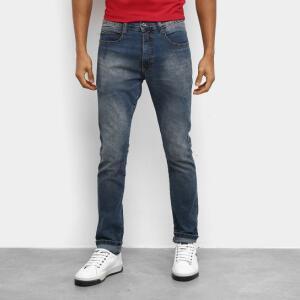 Calça Jeans Slim Ecko E845A Masculina - Azul