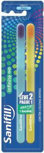 Escova Dental Infinite Macia Leve 2 Pague 1, Sanifill - FRETE GRÁTIS (AMAZON PRIME)