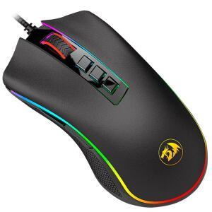 Mouse Gamer Redragon 10000DPI Chroma Cobra M711 | R$118