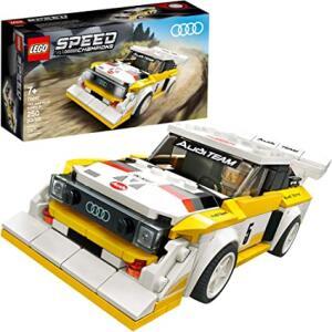 ( PRIME ) LEGO Speed Champions 1985 Audi Sport, Kit e Construção (250 peças) | R$108