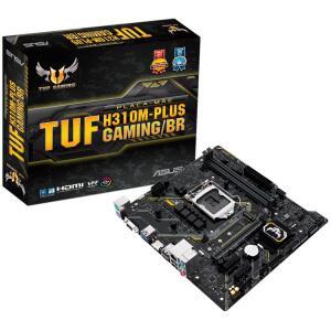 Openbox - Placa-Mãe Asus TUF H310M-Plus Gaming/BR, Intel LGA 1151   R$340