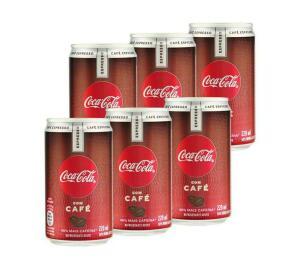 Refrigerante Coca-Cola Café Expresso - 6x220ml