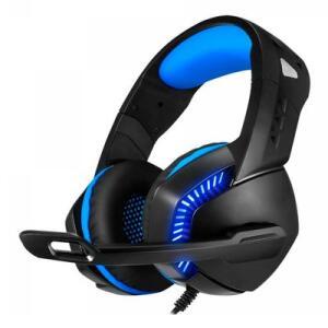 Headset Gamer Elite Fog-0496 Leadership Azul | R$109