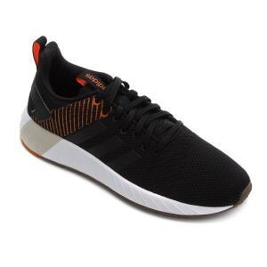 Tênis Adidas Questar Byd Masculino - Preto e Marrom | R$200