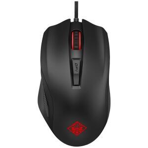 Mouse Gamer HP 12000DPI 6 botões Preto Omen 600 R$90