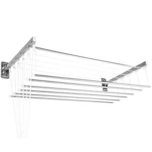 Varal prático teto ou parede 120x56cm de