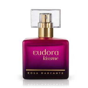 Deo Colônia Eudora Kiss Me Rosa Marcante 50ml | R$63