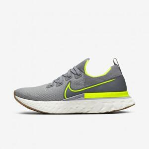 Tênis Nike React Infinity Run Flyknit Masculino Cinza   R$424
