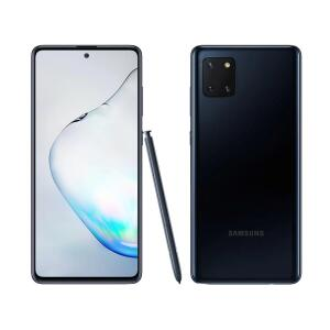 Smartphone Samsung Galaxy Note 10 Lite Preto 128GB | R$ 2.324