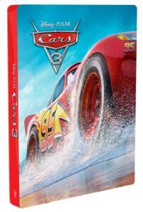 Carros 3 - Blu-Ray 3D + Blu-Ray - Steelbook