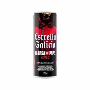 [RJ] Cerveja Estrella Galicia La Casa de Papel Puro Malte Lata 350ml