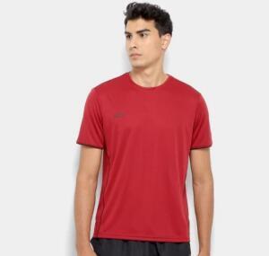 [ 4 por R$100] Camiseta Olympikus Basic Masculina - Vinho