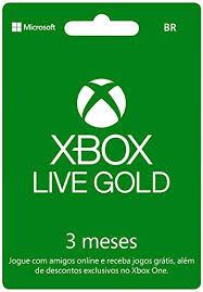[PRIME] Microsoft Xbox Live Gold - 3 Meses