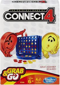 [PRIME] Hasbro Gaming Jogo Gaming Connect 4 Grab & Go | R$ 34