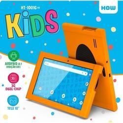 Tablet 10 Quad 8gb Ht-1001 3g Kids How