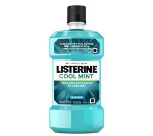 (PRIME) Enxaguatório Bucal Cool Mint, Listerine, 250ml | R$ 10