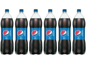 Refrigerante Pepsi 2L ( 6 Unid.)   R$ 29