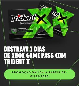 Compre um Trindent X e ganhe 7 dias de game pass ultimate (inicia a partir do dia 01/06)