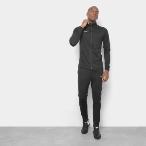 Agasalho Nike Academy Trk Suit K2 Masculino - Preto e Branco   R$ 200