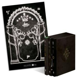 Box Senhor Dos Anéis + Pôster - 1ª Ed.   R$104